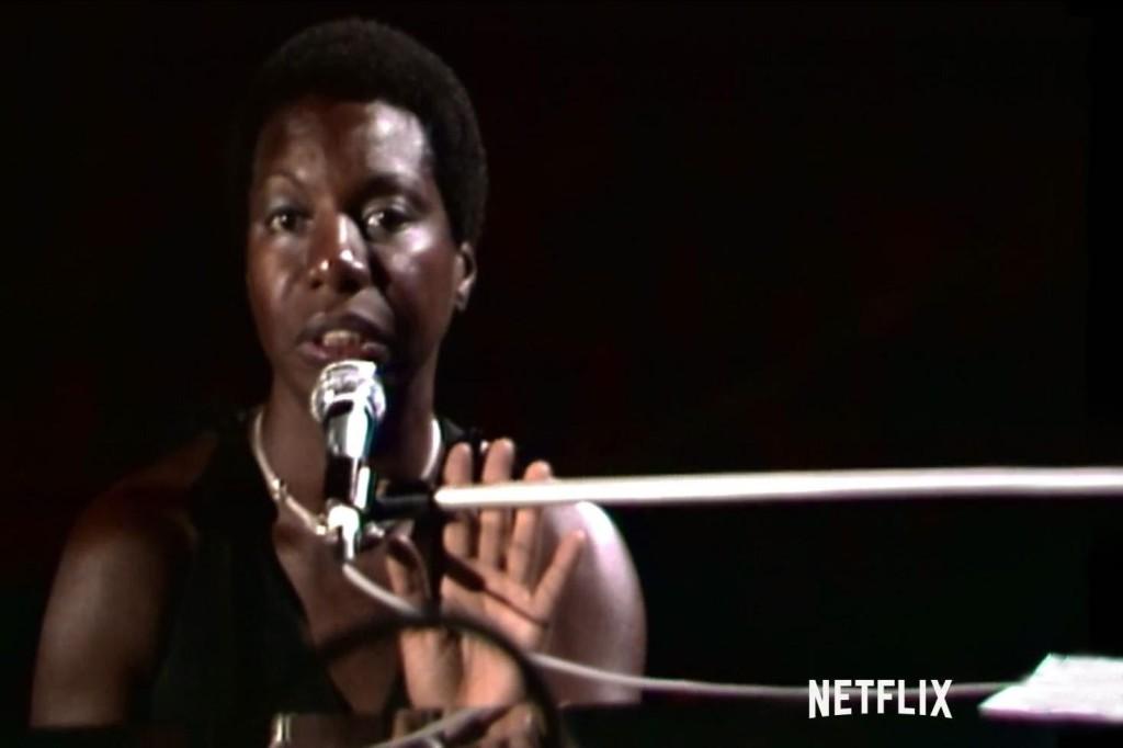 Nina Simone och den där blicken.