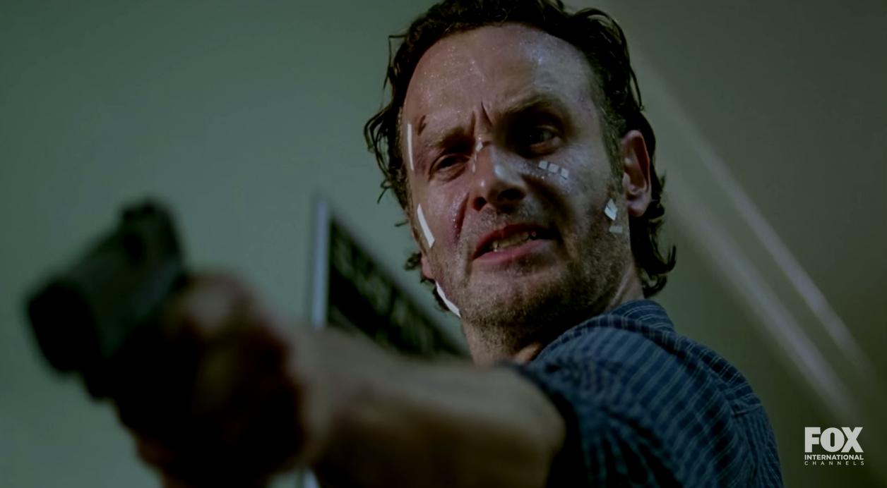 Ansträngd Rick.