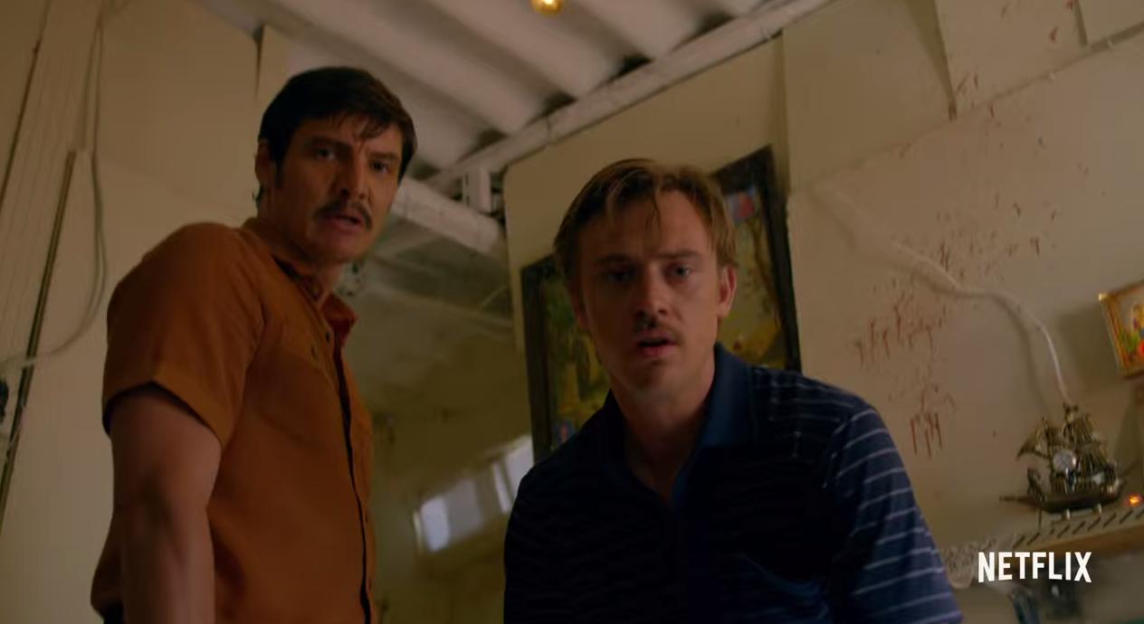 Pedro Pascal och Boyd Holbrook spelar två knarkagenter.