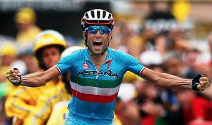 En lycklig Nibali.