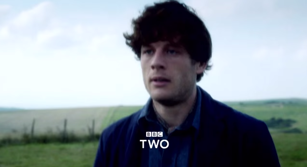 James Norton och en hed. Foto: BBC