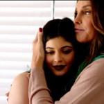 Caitlyn med dottern Kylie Jenner.