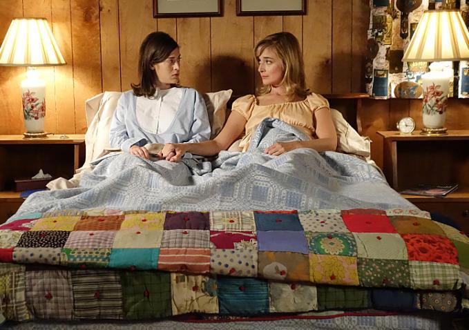 Virginia Johnson (Lizzy Caplan) och Libby Masters (Caitlin Fitzgerald).