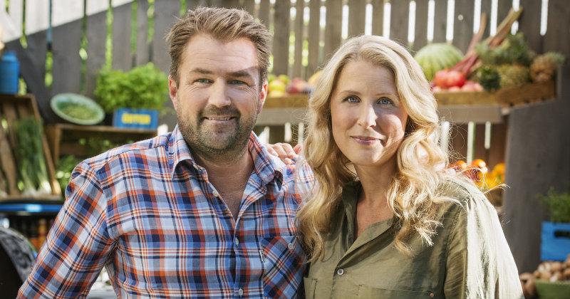 Grillmästarna. Säsong II. Christian Hellberg och Karin Andersson.