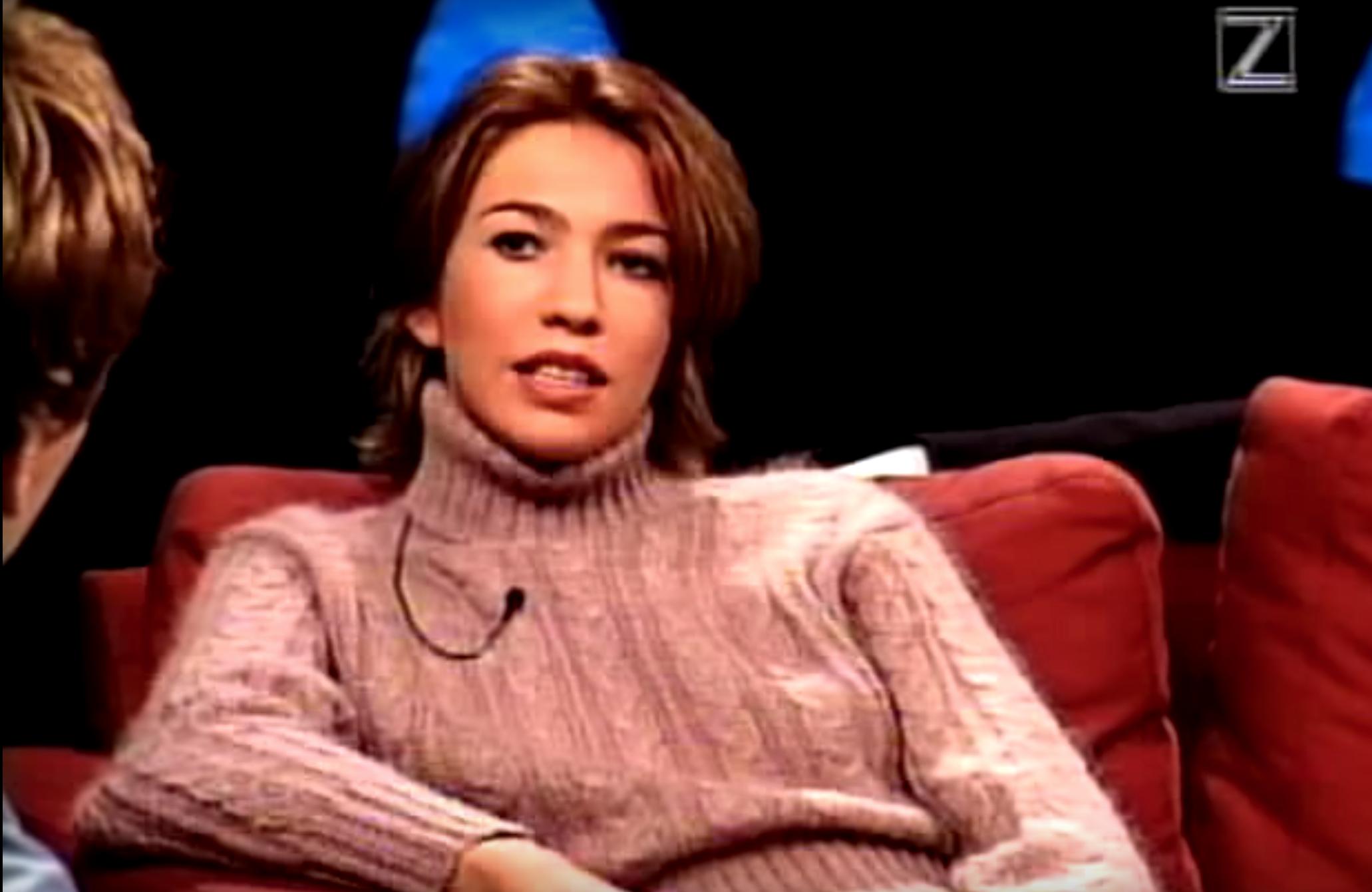"Aftonbladets programledaress Karin Magnusson var en av panelmedlemmarna i ""Knesset"". Foto: ZTV"