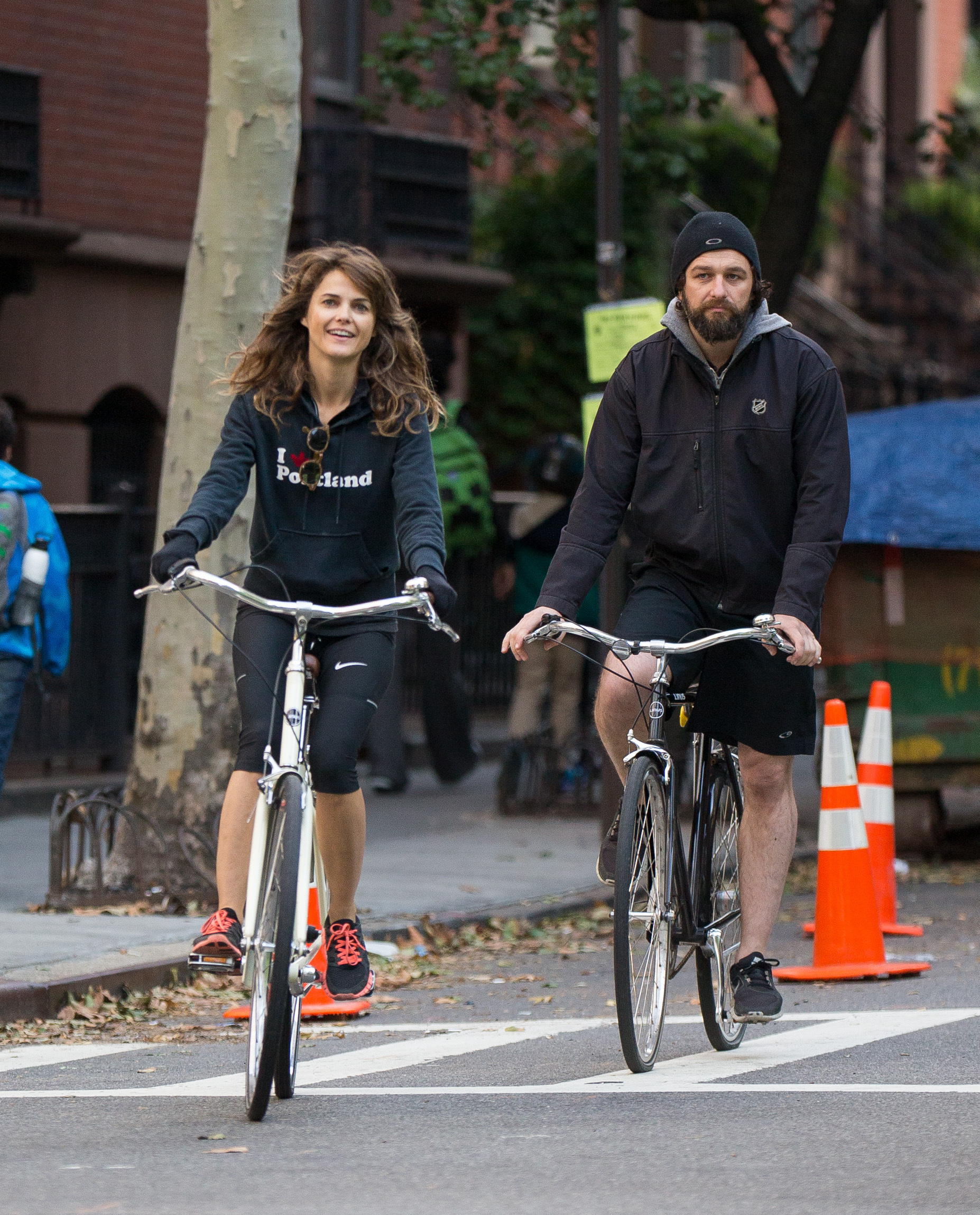 På cykeltur i Brooklyn häromdagen. Foto: ALL OVER PRESS