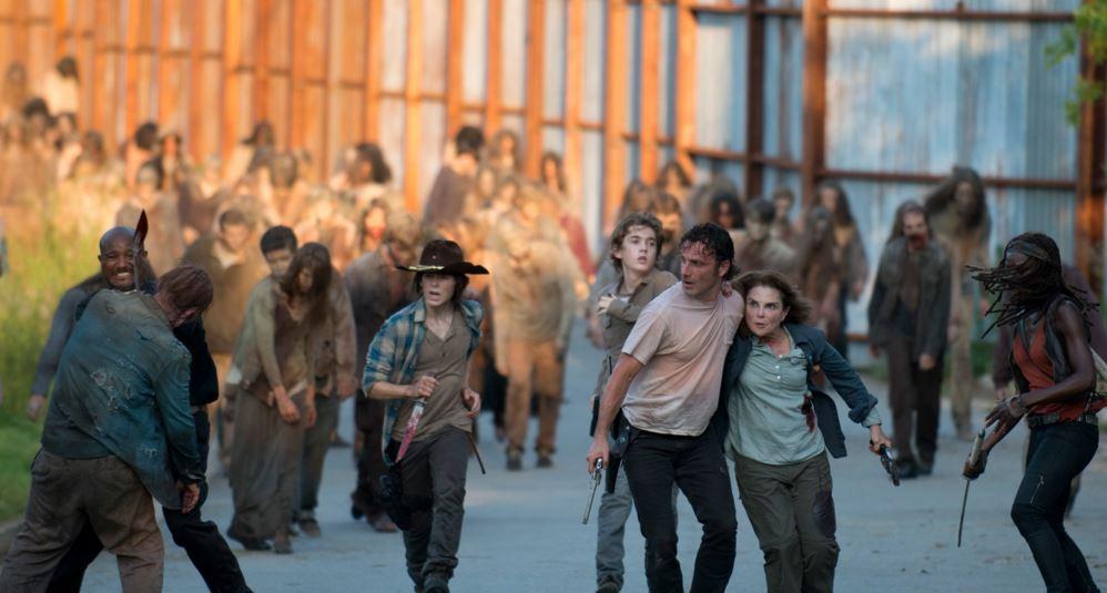 The-Walkig-Dead-608-Gabriel-Stokes-Ron-Anderson-Rick-Grimes-Carl-Grimes-Deanna-Monroe-Michonne