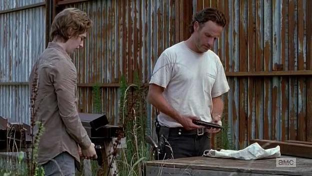 Vapenkurs med Rick.