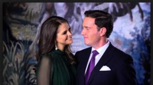 """Det var 2012 som Madeleine avslutade parets officiella förlovningsvideo med """"tihi""""."""