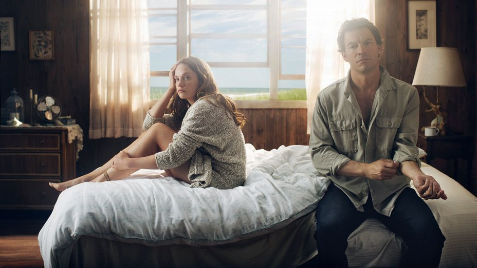 "Ruth Wilson och Dominic West i ""The Affair""."