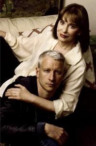 Gloria Vanderbilt med sonen Anderson Cooper.