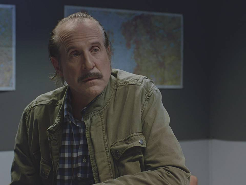 "Peter Stormare i TV3-serien ""Black widows""."