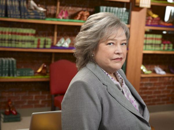 "Kathy Bates i NBC-serien ""Harry's law""."