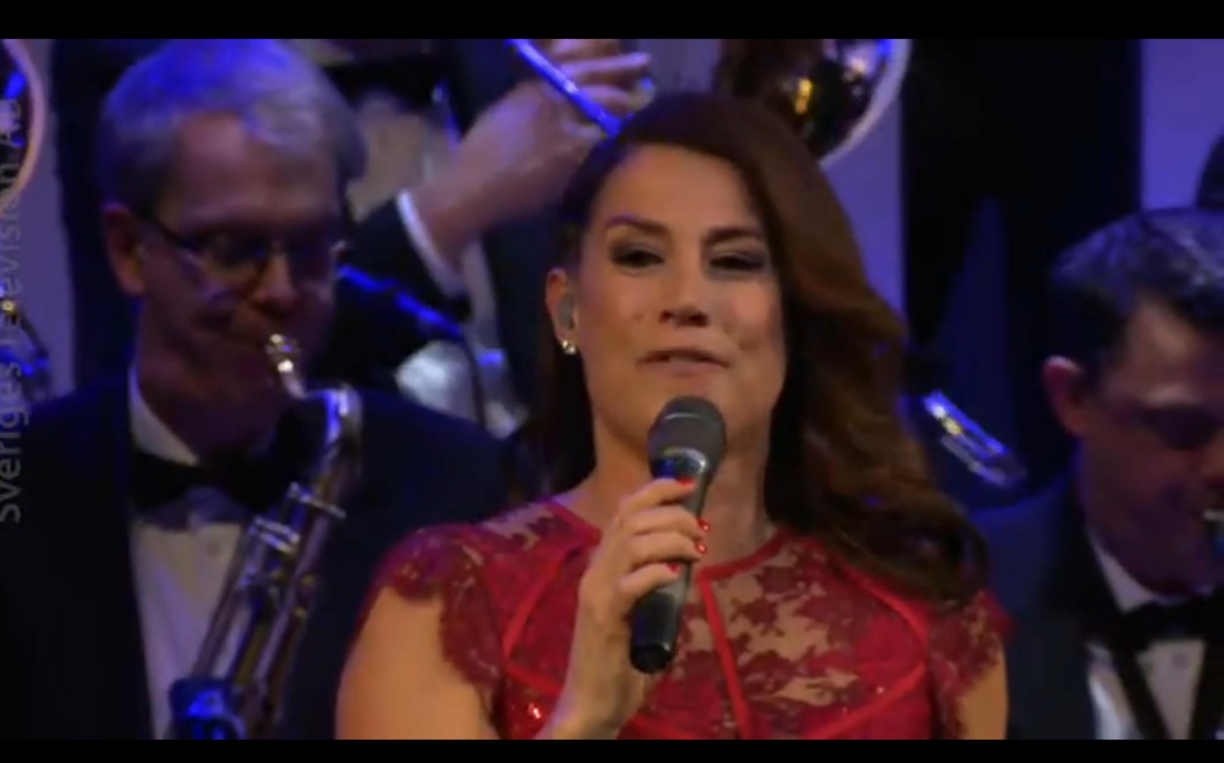Jill Johnson live med storband under fredagskvällen på SVT, tillsammans med Anders Berglund och Sandviken Big Band.