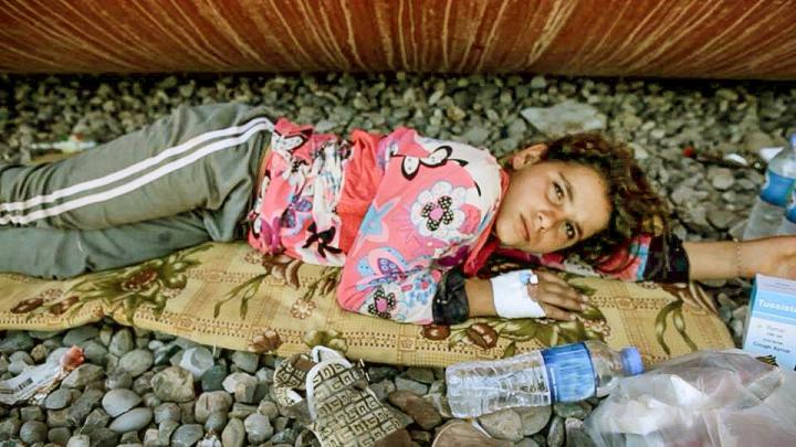 11-åriga Souad räddade livet på filmaren Higor Hirosis.