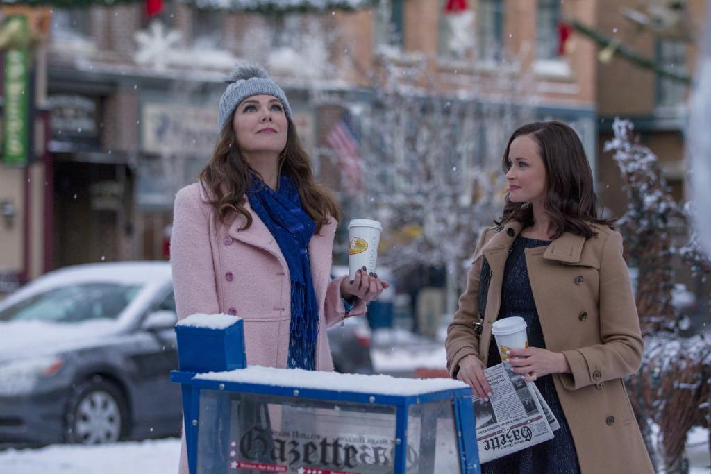 Lauren Graham och Alexis Bledel. Foto: Netflix.