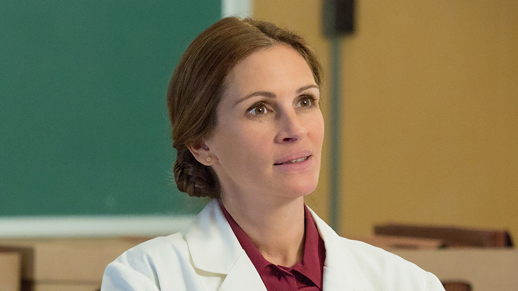 "Julia Roberts i HBO-filmen ""The normal heart"". Foto HBO."
