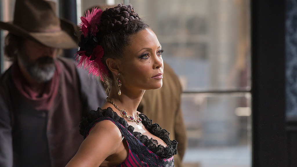 "Thandie Newton i ""Westworld"", HBO."