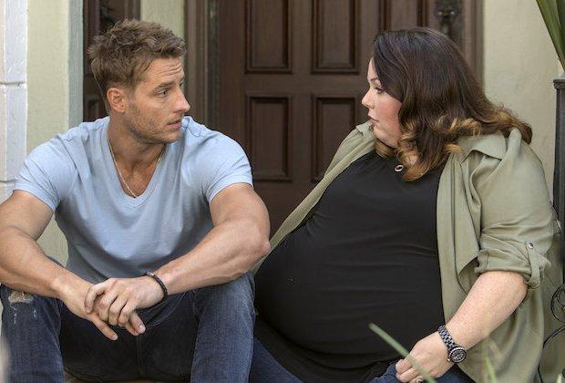 """Justin Hartley och Chrissy Metz i """"This is us""""."""