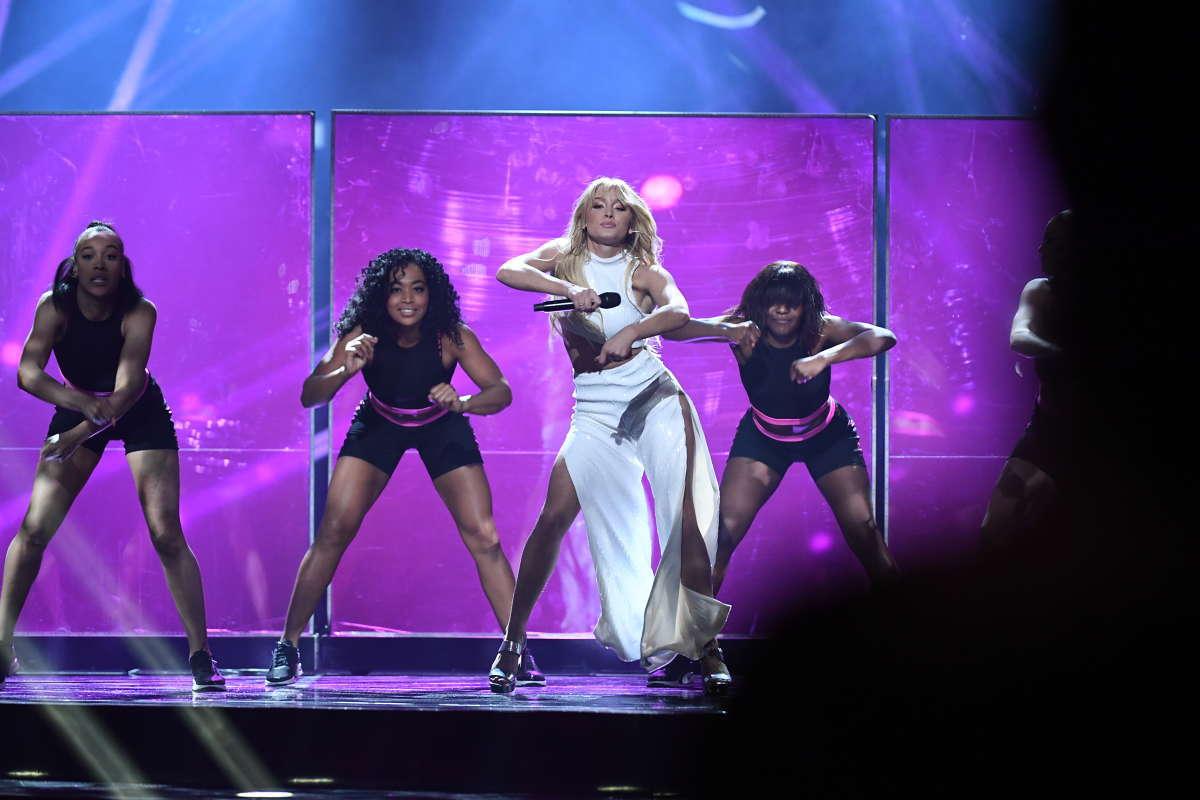 Vad gjorde Zara Larsson i Melodifestivalen egentligen? Foto: JIMMY WIXTRÖM