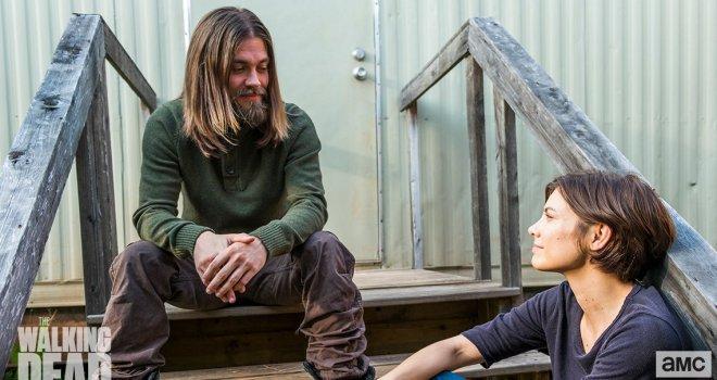 Jesus och Maggie.
