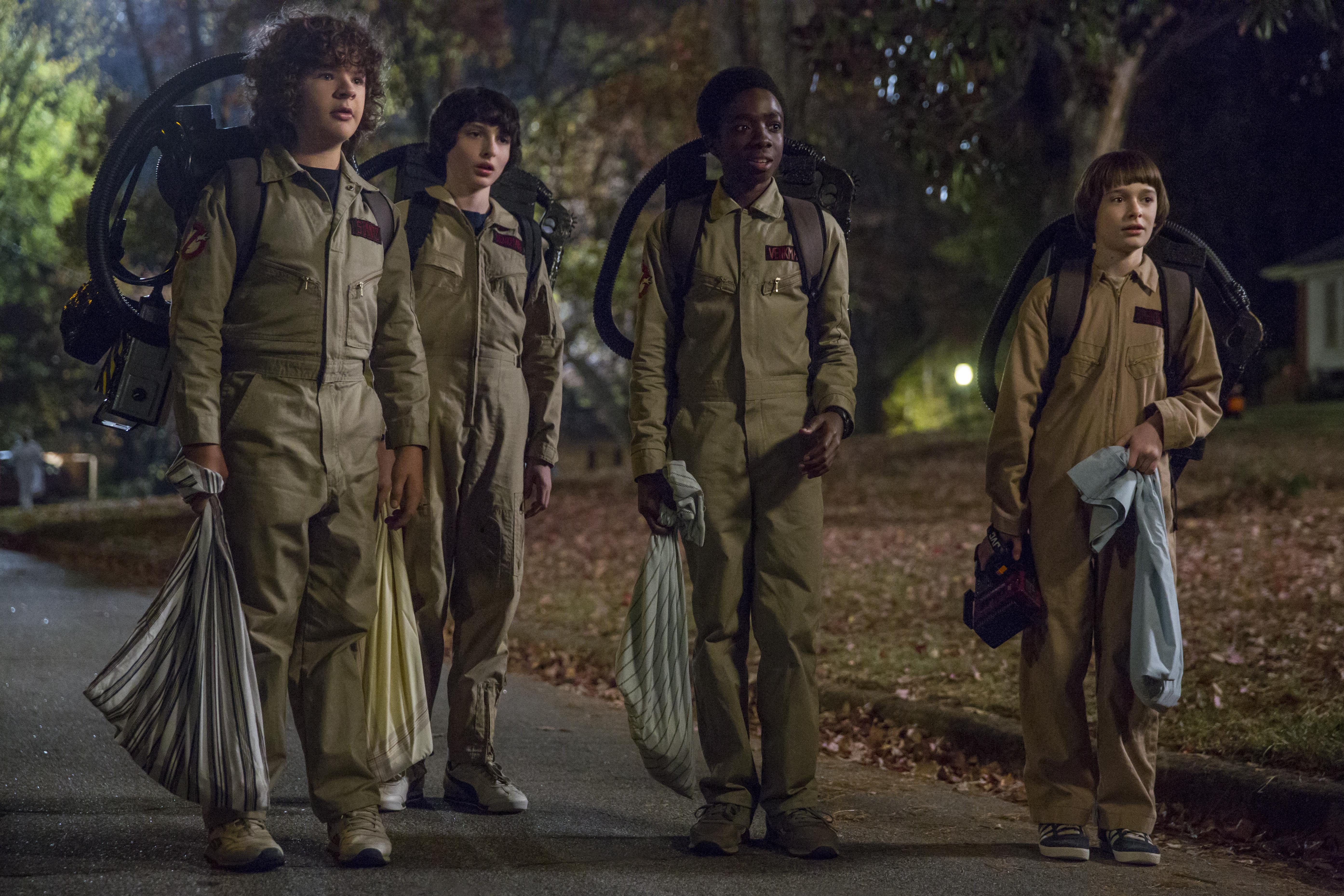 """""""Stranger Things"""" säsong två. Foto: Netflix."""