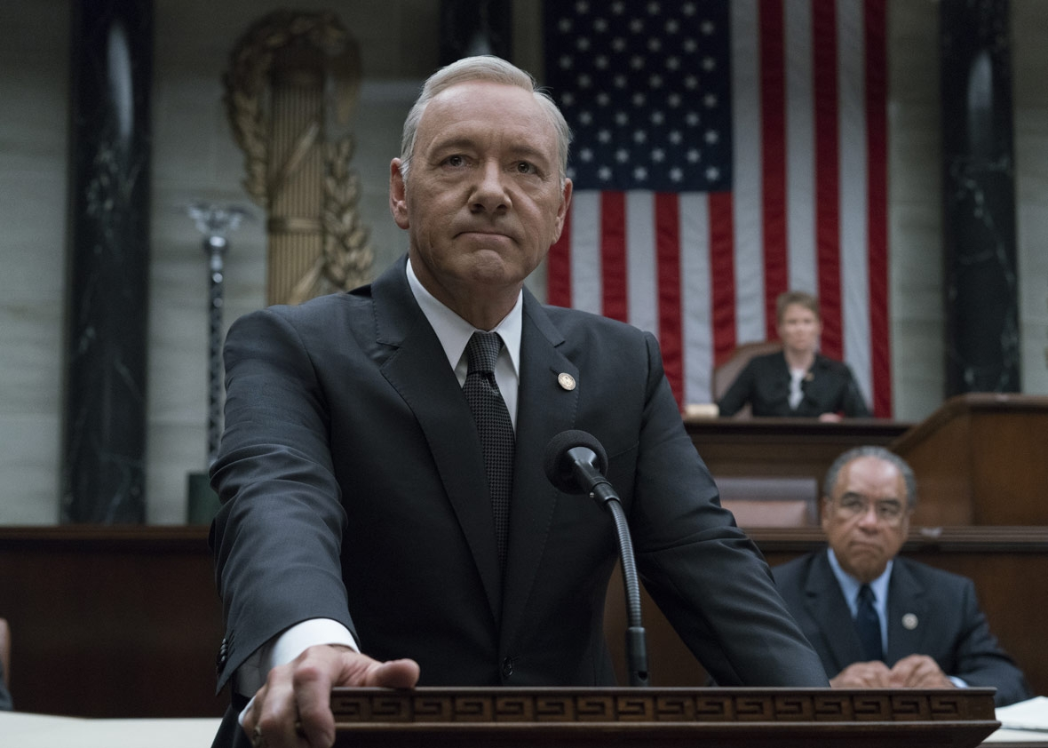 "Kevin Spacey i ""House of cards"". Foto: Netflix."