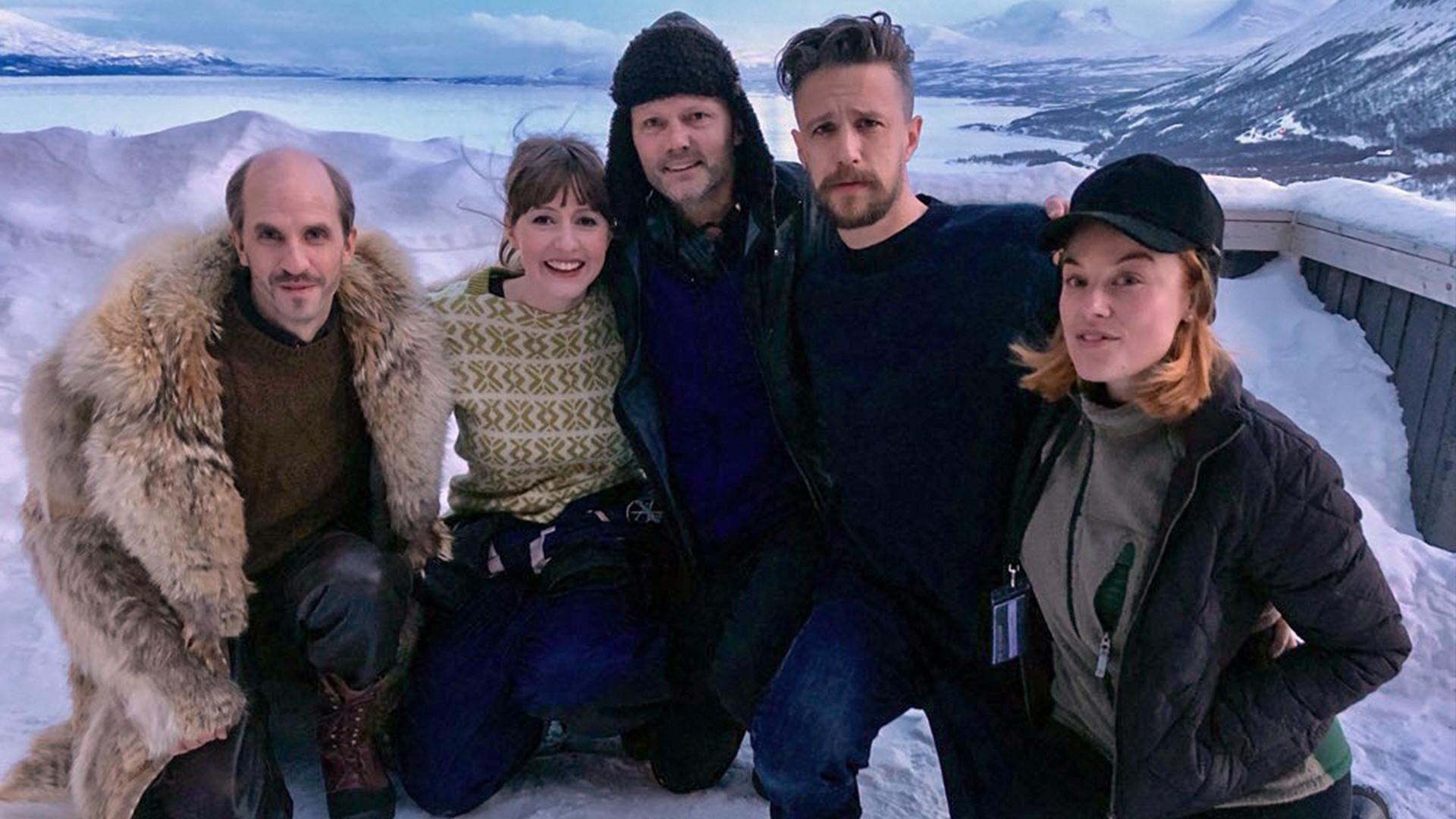 Mattias Fransson, Sanna Sundqvist, Felix Herngren, Jakob Zetterberg och Ida Engvoll. Foto: FLX